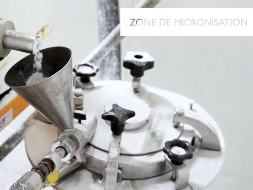 Lessonia - Micronization